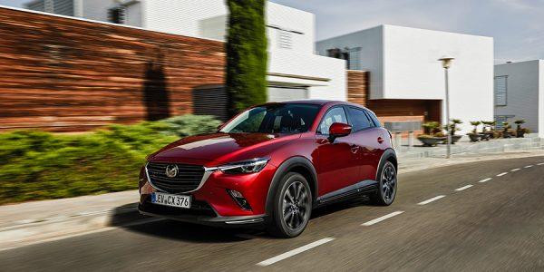 Presentación y prueba del nuevo Mazda CX-3 2019