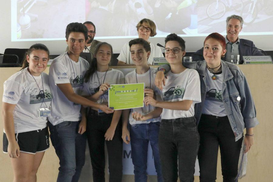 Los alumnos del IES Antonio Dominguez Ortiz
