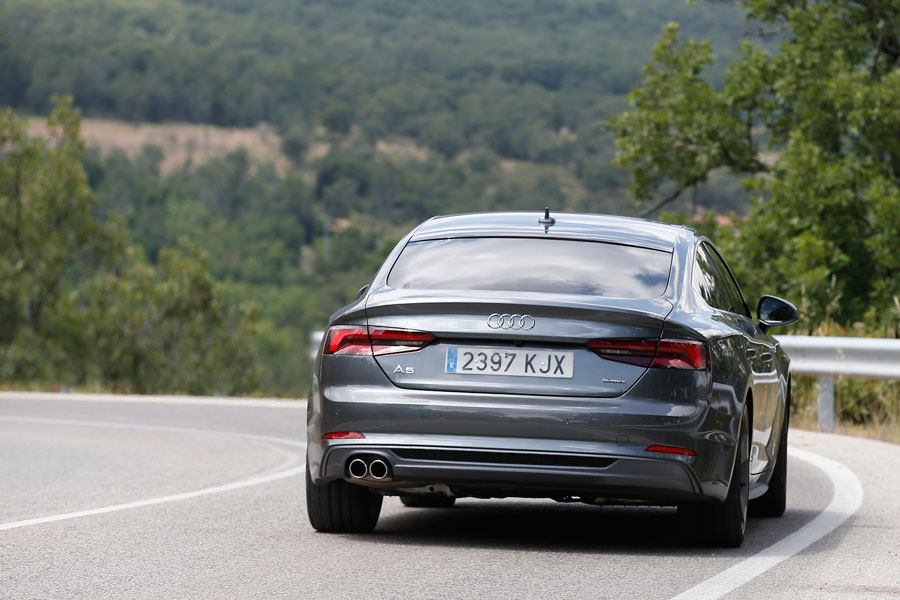 Audi A5 Sportback 3.0 TDI dinámicas.