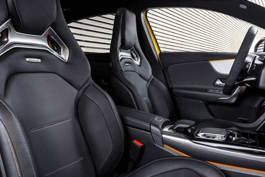 Mercedes-AMG A35 interior.