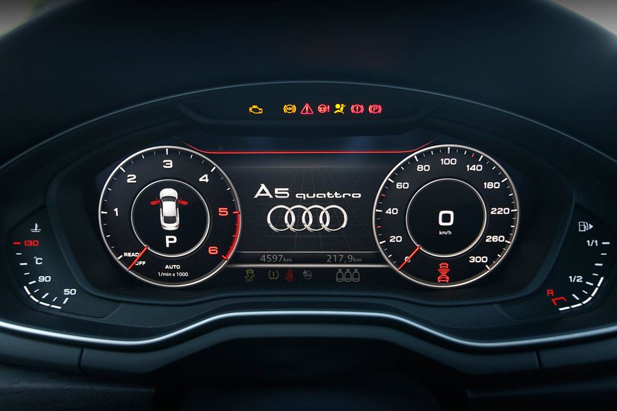 El Audi Virtual Cockpit permite multitud de modos de visualización.