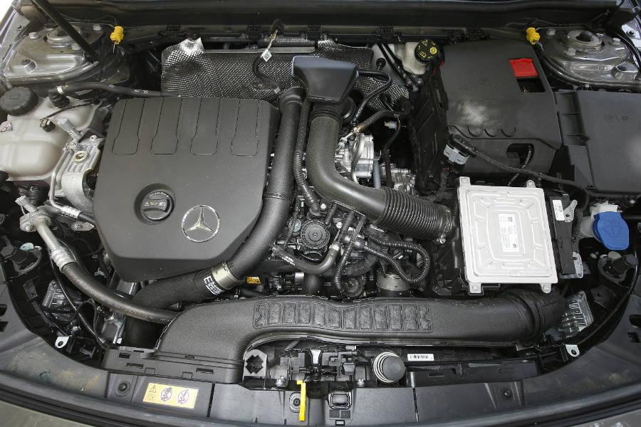 El motor de la versión A 200 declara 163 CV.