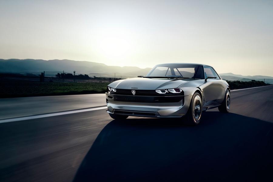 Peugeot e-Legend Concept: un coupé eléctrico y autónomo