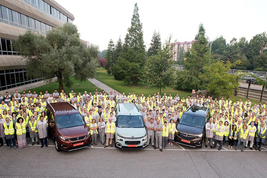 60º aniversario de la fábrica de PSA (Citroën, Peugeot, DS y Opel) en Vigo