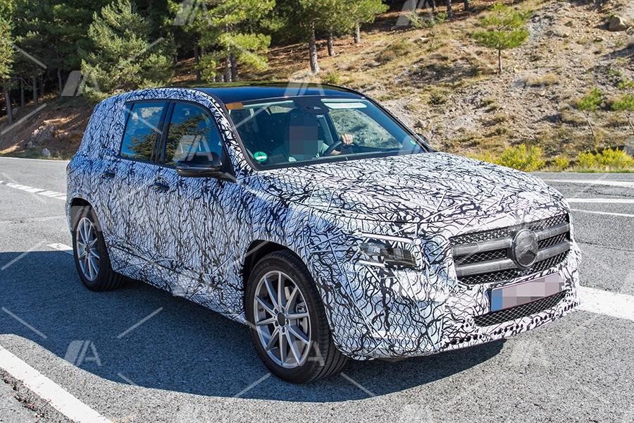 Fotos espía del nuevo Mercedes GLB 2019