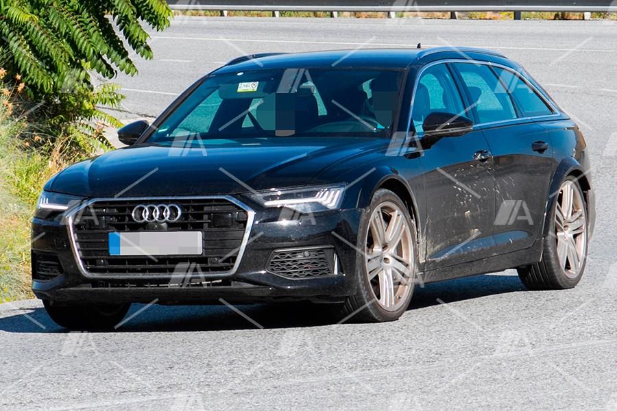 Fotos espía de la mula del Audi RS 6 Avant 2019