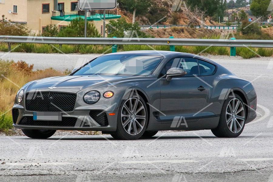 Fotos espía del nuevo Bentley Continental GT Speed