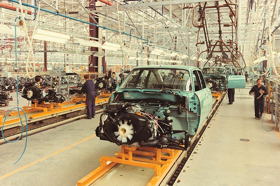 El Citroën GS era el coche más sofisticado que se fabricaba en España en esa época.