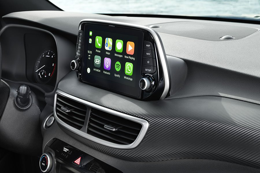 El Hyundai Tucson 2018 incluye Apple CarPlay y Android Auto.