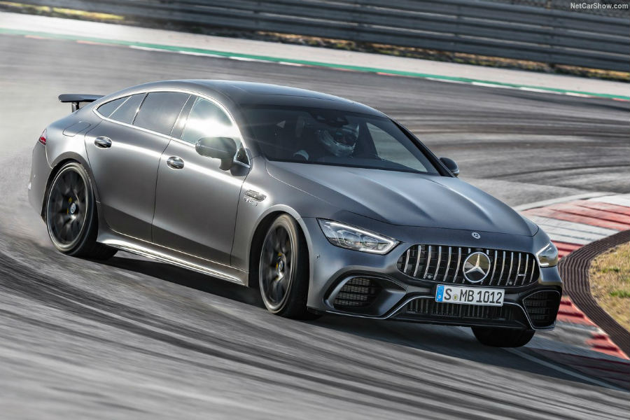 Mercedes AMG GT Coupé 4 Puertas: tiembla, Panamera