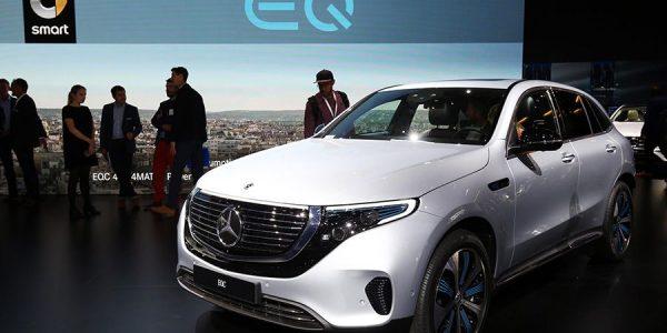 Mercedes EQC 2019: el primer coche eléctrico de Mercedes es un SUV