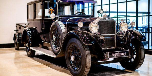 Museo Aguinaga: el paraíso de Mercedes-Benz en España