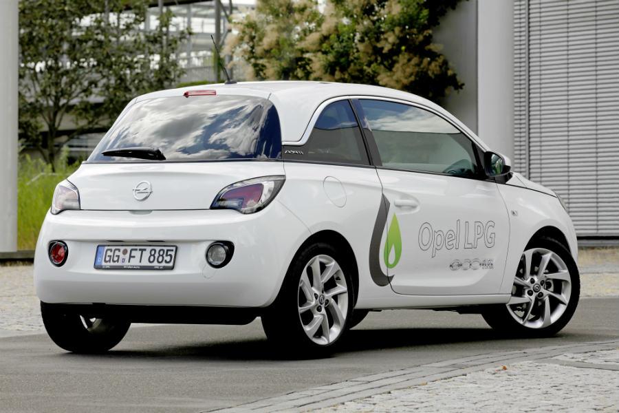 Opel ha adaptado el Adam a la tecnología GLP