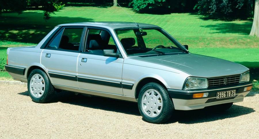 El Peugeot 505 era un modelo de alta gama en la España de los años ochenta.