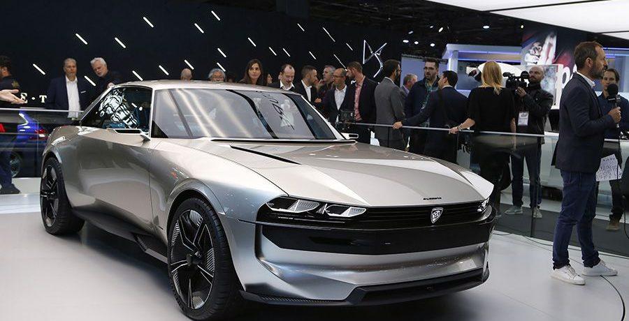 Peugeot e-Legend Concept: viaje al futuro de la mano del pasado