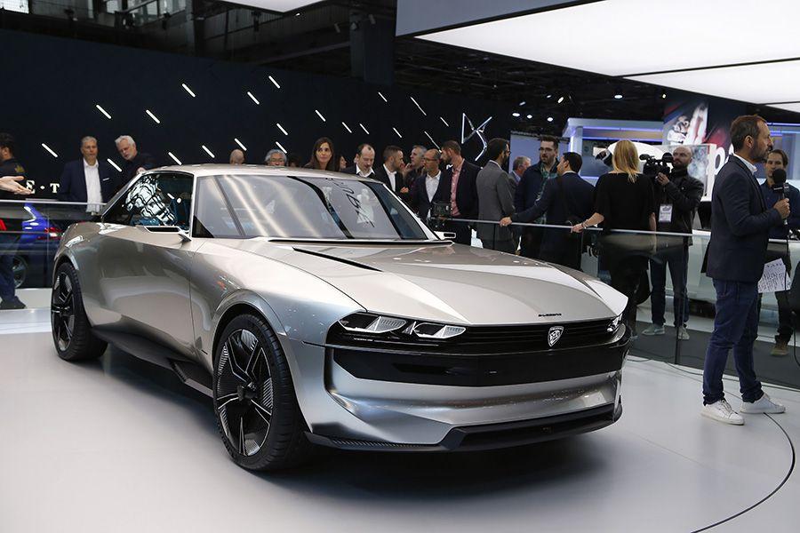 Peugeot E Legend Concept Viaje Al Futuro De La Mano Del Pasado
