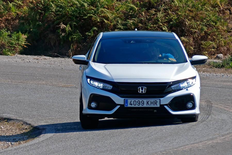 Prueba del Honda Civic diésel i-Dtec 2018