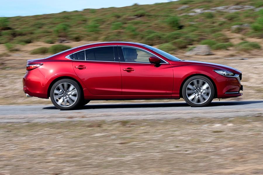 Los consumos del Mazda6 diésel son buenos, con medias por debajo de los 6,5 litros.
