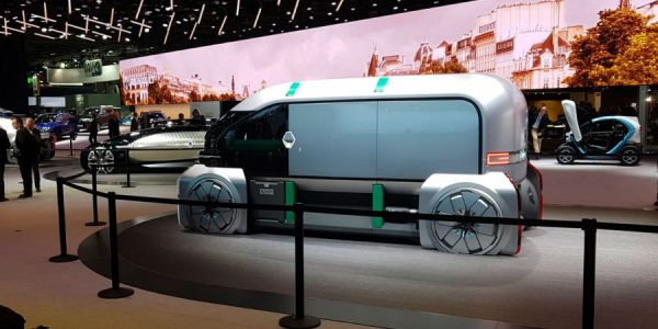 Renault EZ-PRO Concept: el Trafic del futuro, eléctrico y autónomo