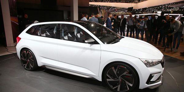 El Skoda Vision RS debuta en el Salón de París 2018