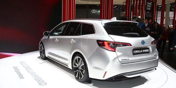El nuevo Toyota Corolla Touring Sports brilla en París 2018