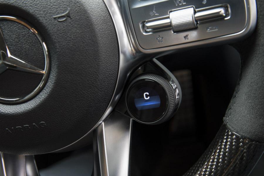 El sistema AMG Dynamic Select permite tocar muchos parámetros del coche