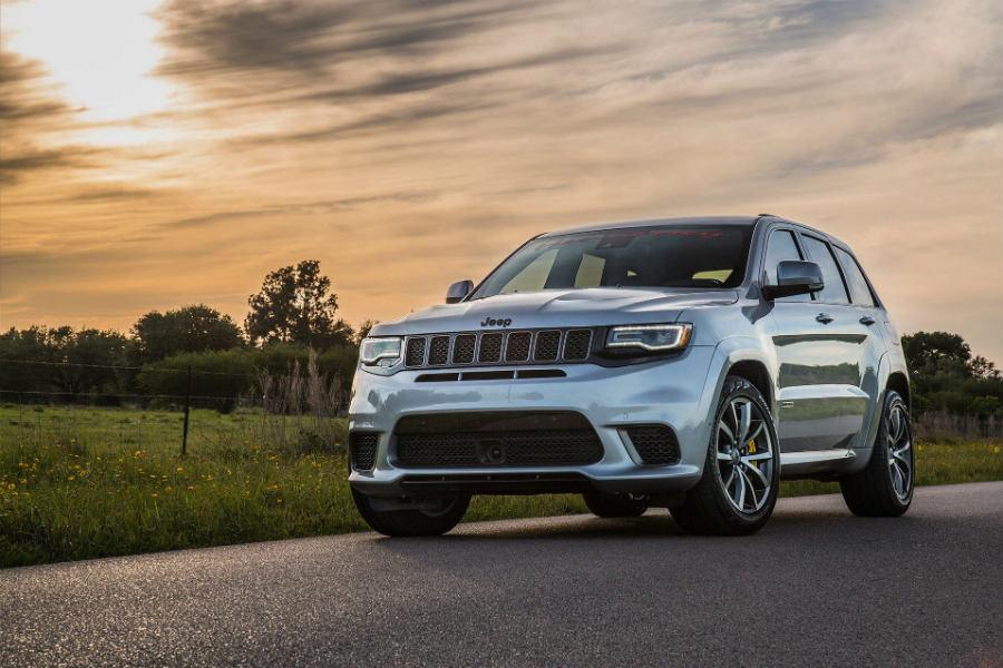 Hennessey Grand Cherokee Trackhawk: un SUV para dementes