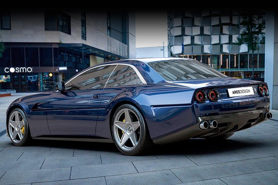 Un Ferrari GTC 4Lusso que parece un Ferrari 412