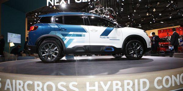 Citroën C5 Aircross Hybrid Concept: los chevrones se ponen las pilas en casa