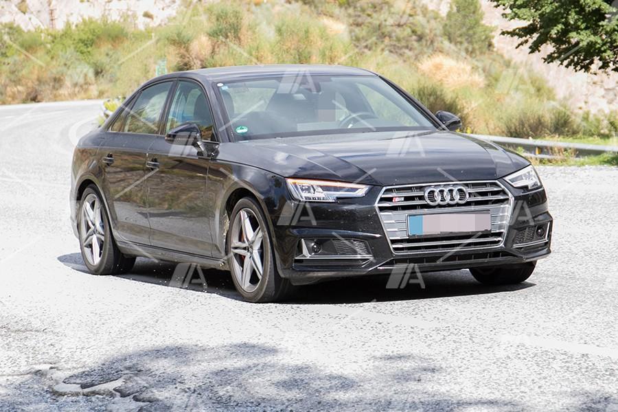 Fotos espía del renovado Audi S4 2019