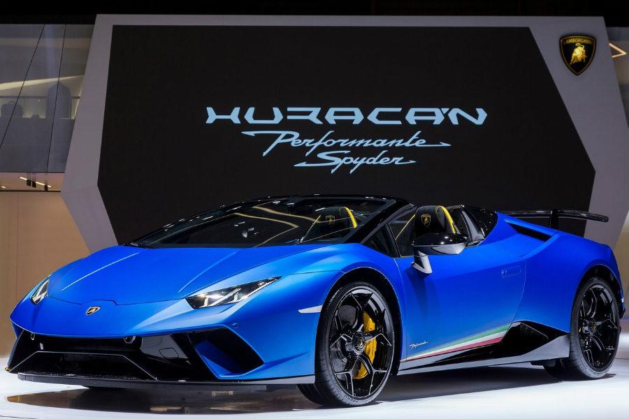 El Lamborghini Huracán Performante es el elegido por Jeremy Clarkson