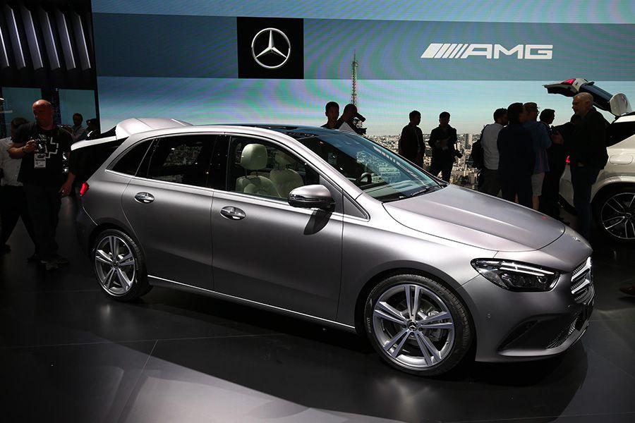 El nuevo Mercedes Clase B 2019 debuta en París