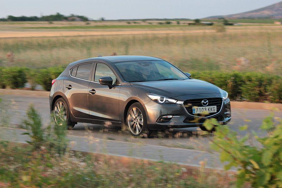 Prueba del Mazda3 2018 de gasolina y 120 CV