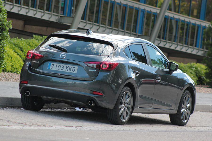 El Mazda3 es uno de los compactos más atractivos del mercado.
