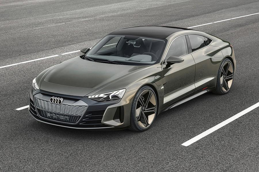 El Audi e-Tron GT Concept debuta en Los Ángeles 2018