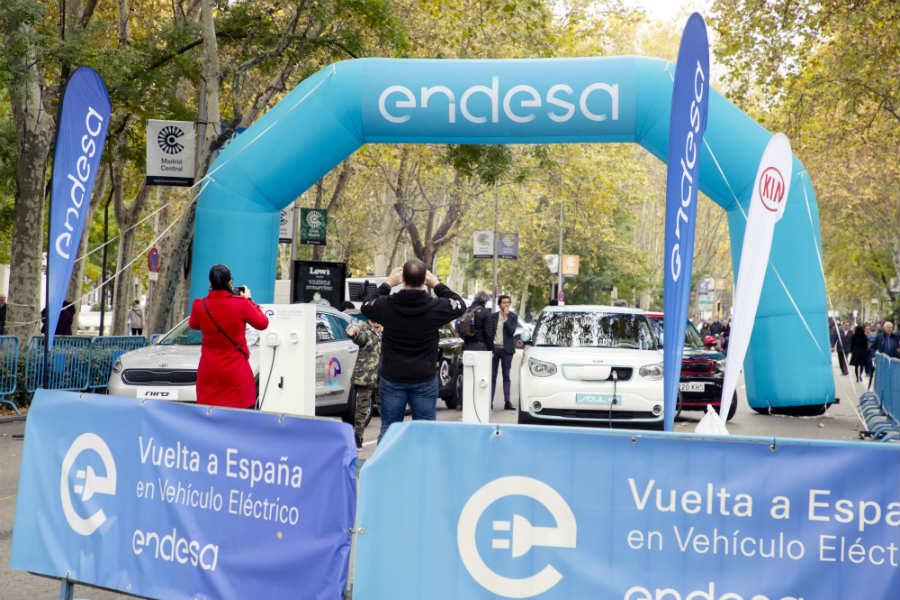 El Paseo del Prado de Madrid se cerró para celebrar el final de la vuelta