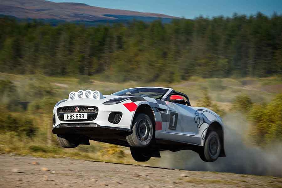 Jaguar F-Type R de rally: ¿a que no te lo imaginabas?
