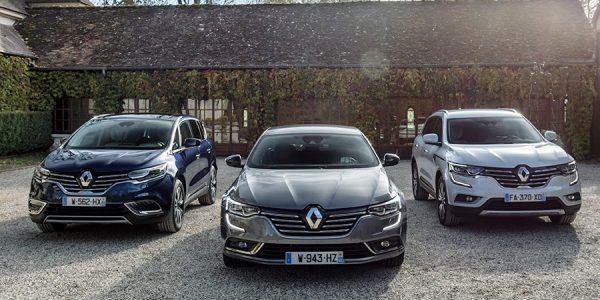 Mejoras en los Renault Koleos, Talismán y Espace con nuevos motores