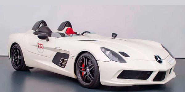 Este Mercedes SLR Stirling Moss se vende por 3 millones