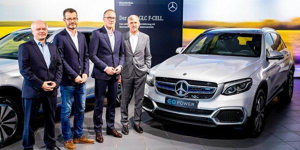 El primer Mercedes de hidrógeno a la venta en Alemania