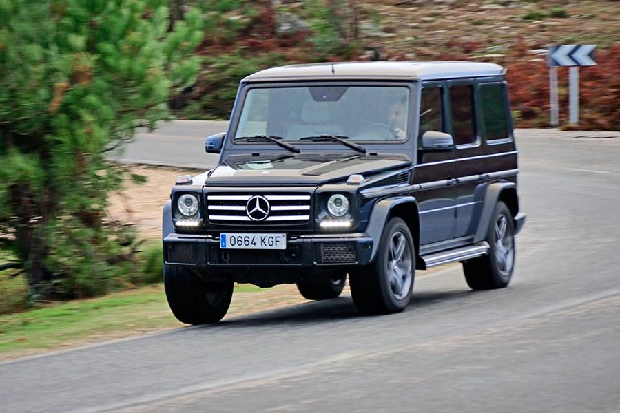 El Clase G se encuentra más cómodo fuera del asfalto que en carretera.