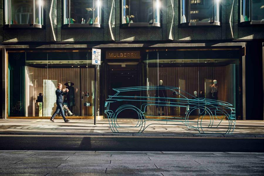 Land Rover nos adelanta su nuevo Evoque con estas esculturas