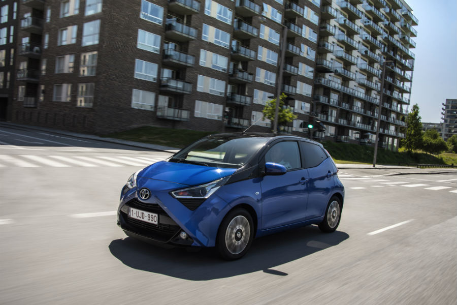 Toyota Aygo x-clusiv: ya disponible desde 11.900 euros