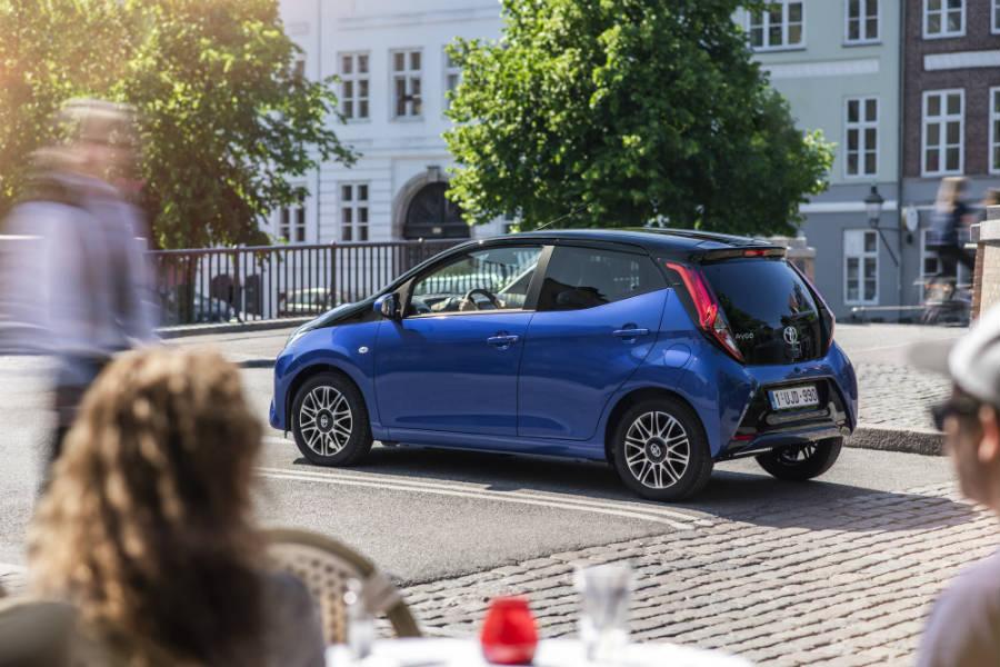 El Toyota Aygo x-clusiv estará disponible desde 11.900 euros