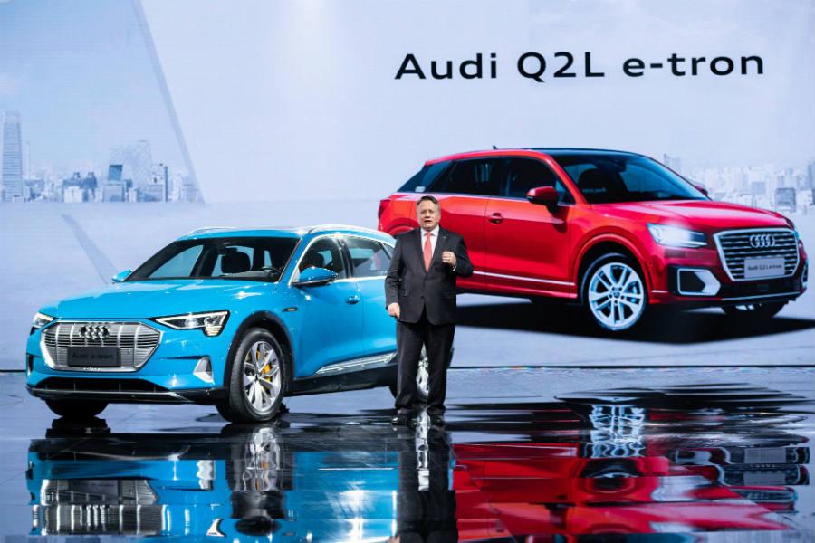 Audi Q2 L e-tron: un SUV eléctrico para el mercado chino
