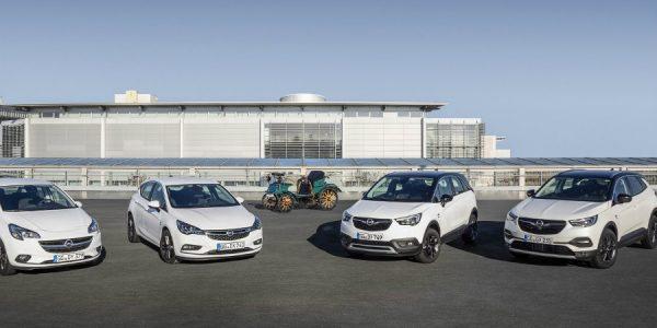 Gama Opel 120 Aniversario: una versión muy especial