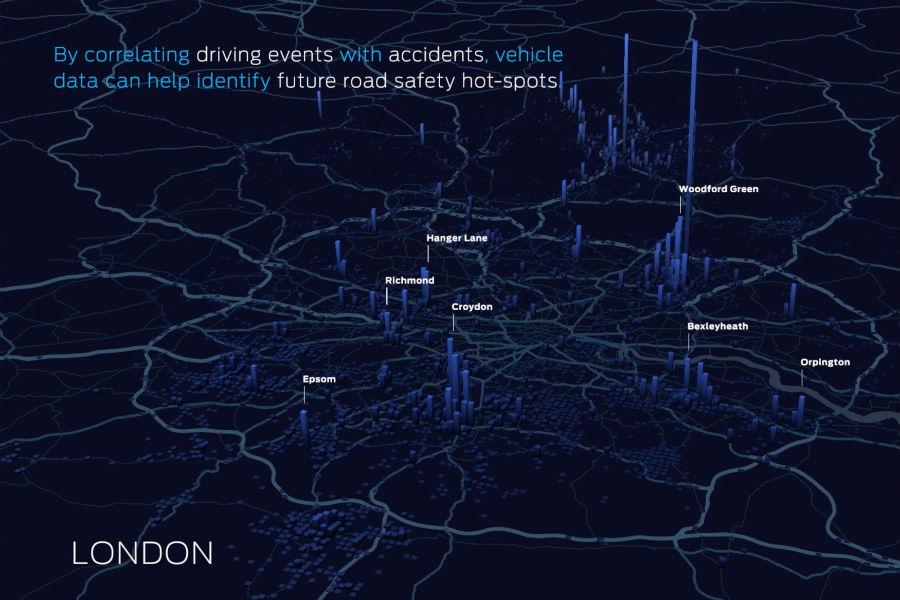 Ford usa el Big Data para hacer más seguras las ciudades