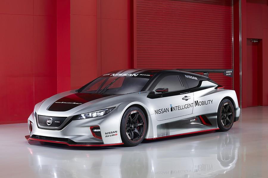 Nuevo Nissan Leaf Nismo RC: un eléctrico de carreras