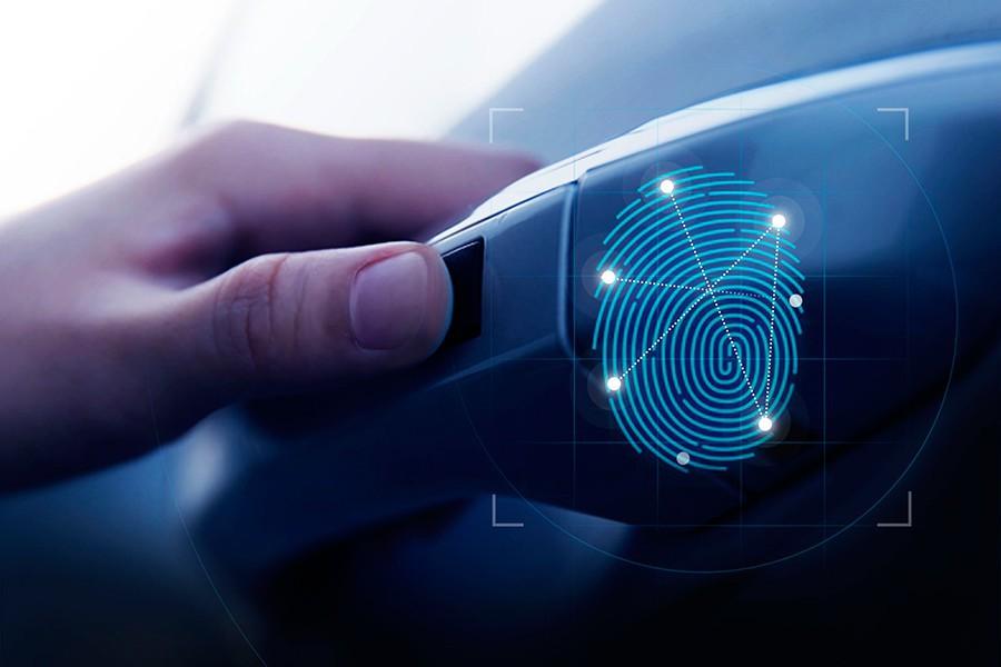 El Hyundai Santa Fe 2019 se abre con la huella dactilar