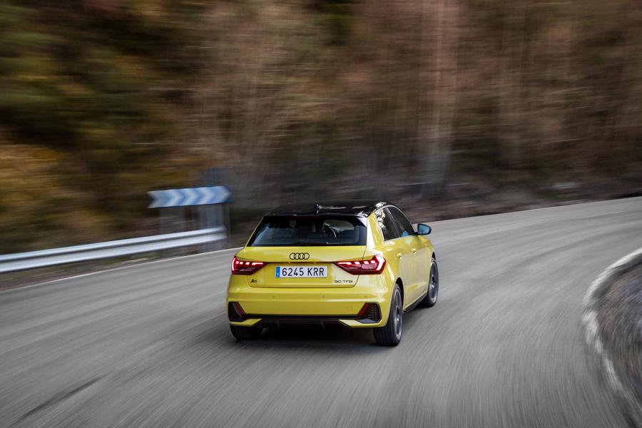Audi A1 Sportback dinámicas.